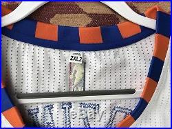 Porzingis Knicks Game Issued Rookie Jersey HWC Hardwood Classics Pro Cut Rev30