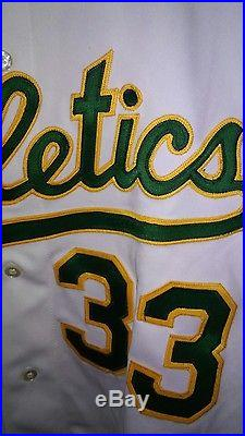 RARE 1990 RAWLING GAME ISSUED OAKLAND ATHLETICS JOSE CANSECO MLB JERSEY sz 50
