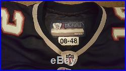 RARE Team Game Issued Tom Brady Jersey Reebok 2008 Season Size 48 Home Pro Cut