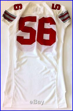 RARE Vintage 2005 Ohio State Buckeyes Authentic Game Issued Jersey Size 50