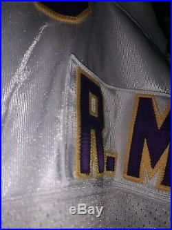 Randy Moss Game Used/Issued #18 Rare Rookie Minnesota Vikings Jersey PLEASE READ