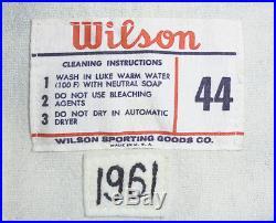 Rare- 1961 -Milwaukee Braves- Vintage Team Issued Pro Game Model Baseball Jersey