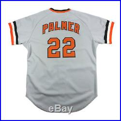 Rare'77 Vintage Jim Palmer Signed Baltimore Orioles Game Issued Pro Cut Jersey