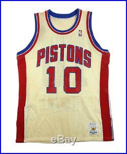 2bdbe3d929d Rare 80 s Dennis Rodman Detroit Pistons Rookie Era Vintage Game Issued  Jersey