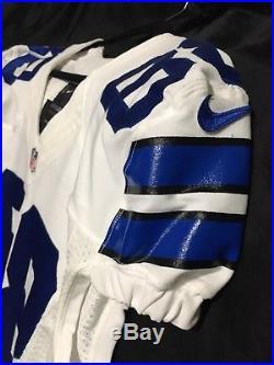 Rare Dallas Cowboys 2013 Dez Bryant Home Team Issued Pro Cut