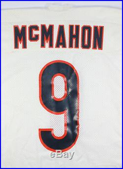 Rare Jim Mcmahon 1984-1987 Game Issued Used Chicago Bears Road Wilson Jersey
