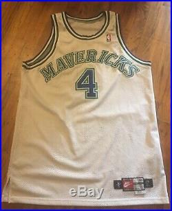 Rare Nike Dallas Mavericks Authentic Procut Michael Finley Game Issued Jersey