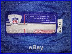 Rare San Diego Chargers 2006 Powder Blue Game Issued Jersey 06-54 PBO Reebok