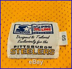 Rare! Steelers 1994 Greg Lloyd 1933 Throwback Team Issued Game Jersey NFL 75th