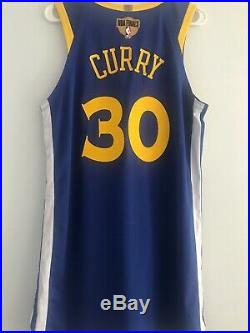 Rare Stephen Curry Warriors 2019 Finals Game Issued Nike Jersey Game Worn