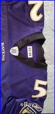 Ray Lewis Ravens 2003 Game Issued Rare Jersey HOF