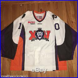 Reading Royals 15th Annv jersey Game Issued Yannic Tifu Signed size 56 signed