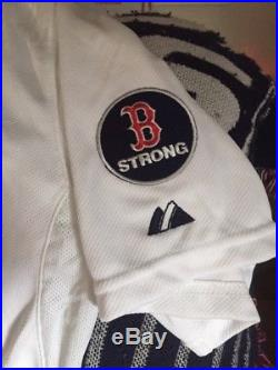 Red sox #28 2013 game Issued World Series Jersey