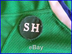 8d6a9b9b8b3 Reebok Connecticut Whale Whalers Game Issued Jersey Eminger Sandy Hook  Patch NYR