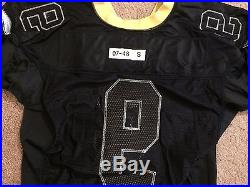 Reebok Drew Brees New Orleans Saints Team Issued Game Jersey