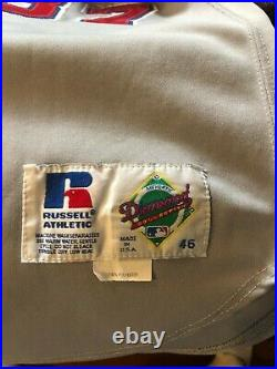 Rheal CORMIER Game Worn/Used/Issued 1996 Montreal Expos Jersey #37