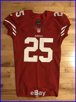 Richard Sherman Game Issued Autographed San Francisco 49ers Jersey Worn