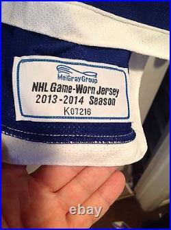 Ryan Strome Game Worn Used Issued Stadium Series Jersey Islanders Oilers Rare