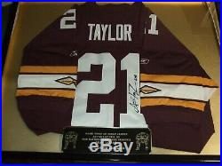 SEAN TAYLOR Signed Autograhed Game Used Worn jersey team issued coa
