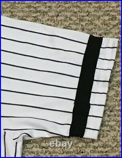 SONNY GRAY #55 2017 Yankees Game Jersey ISSUED HOME BLACK BAND POST STEINER MLB
