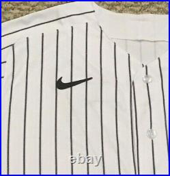 STANTON size 46 #27 2020 New York YANKEES game jersey issued home HGS MLB HOLO