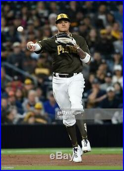 San Diego Padres Manny Machado Game Issued Un Worn Rare 2019 Jersey (orioles)