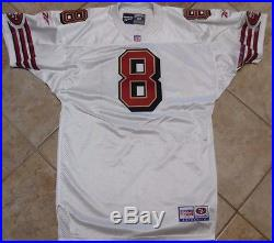 promo code d6ca2 ec03f San Francisco 49ers Game Jersey Vintage Steve Young Team ...
