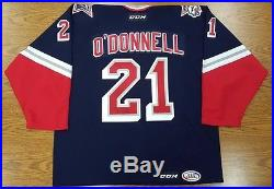 Sean O'Donnell Game-Issued 2015-16 Throwback Jersey withCOA