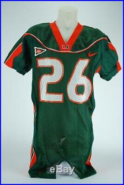 Sean Taylor Miami Hurricanes Game Issues Jersey Miami Hurricanes