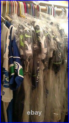 Seattle Seahawks Team Issued Marshawn Lynch 2010 Reebok Jersey Game Worn/Used