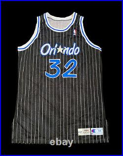Shaq Oneal Magic Champion Game Jersey Procut Issued Lakers