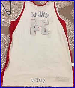Shaquille O'Neal NBA Game issued pro cut LA Lakers All Star jersey 2004 Shaq