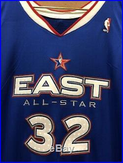 Shaquille ONeal Miami Heat 2005 All Star Game Issued Jersey Worn Lakers