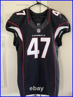 Shaquille Riddick Game Issued NFL Jersey. West Virginia Mountaineers