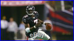 Signed Michael Vick ATL Falcons 2002 Reebok Game Team Issued Jersey Autographed