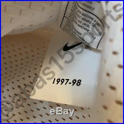 Signed Nike 1998 Nba Finals Michael Jordan Bulls Game Issue Jersey Uda Autograph