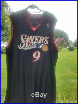 Sixers 76er's Kenny Thomas Team Issued 2003-04 Authentic Game Jersey