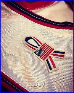 Sixers Allen Iverson Game Issued Jersey 2002 All Star Game Patch 9/11 Used Worn