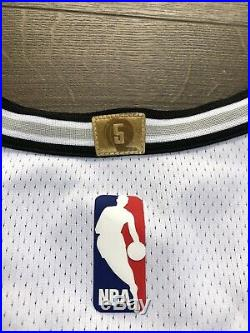 Spurs Kawhi Leonard Game Worn Jersey Nba Raptors Champion Clippers Issued Used