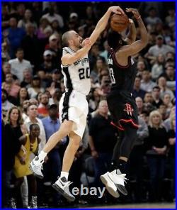 Spurs Manu Ginobili Game Worn issued Used Jersey Rev 30 Mesh Nba Champion Duncan