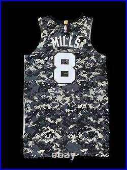 Spurs Patty Mills Game Jersey City Edition Nba Champion Used Issued Worn Boomers