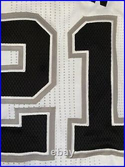 Spurs Tim Duncan Game Jersey Nba Champion Worn Used Issued HOF Kobe Rev30 Mesh