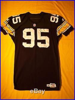 Steelers 1996 Greg Lloyd Durene Starter Team Issued Game Jersey