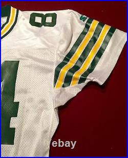 Sterling Sharpe Team Issued Signed Packers Pro NFL Game Jersey PSA COA Football