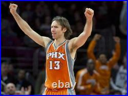 Steve Nash 2011-12 Phoenix Suns Road Player Issued Game Jersey Size L+2