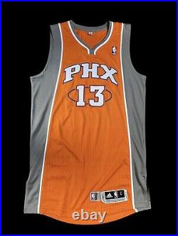 Suns Steve Nash Game Issued Jersey Rev30 Mesh Numbers NBA Champion MVP