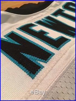 TEAM GAME ISSUED Cam Newton Carolina Panthers 2013 Nike Elite White Jersey Sz 44