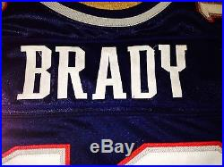 TOM BRADY 2000 ROOKIE Jersey. Game Issued Used