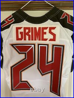 Tampa Bay Buccaneers Authentic Game Issued Jersey sz 40 WithCOA