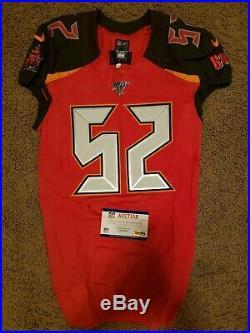 Tampa Bay Buccaneers Nike NFL Game used team Issued Noah Dawkins Jersey